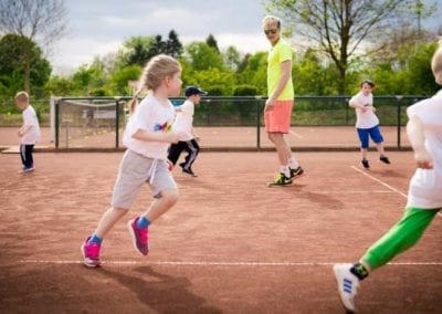 Tennistraining_Kinder